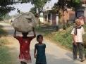 Лумбини - непальские крестьяне