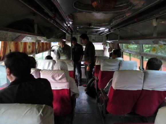 Автобус в Лумбини