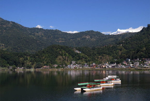 Покхара: по суше, по воде, в небе и с огнём (фотографии и видео)