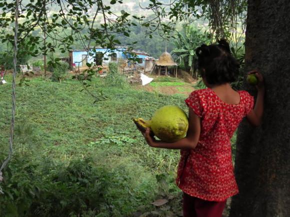 Непальская девочка