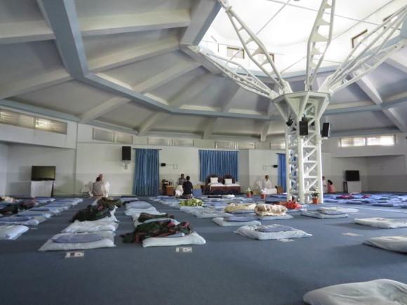 Основной зал для медитаций