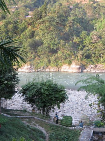 Река возле Манакаманы