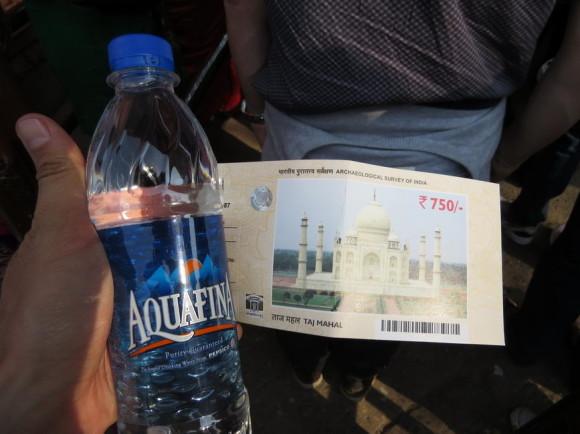 Билет в Тадж Махал