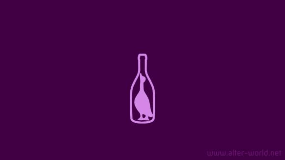 Гусь в бутылке