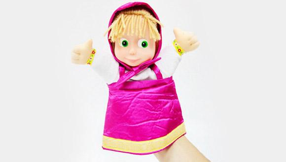 Кукла на руке