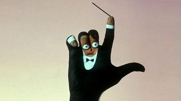 Разрисованная рука