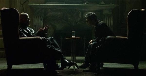 Беседа Морфеуса с Нео о природе Матрицы