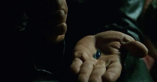 Синяя таблетка